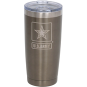 Pure Drinkware Military Logo 20 oz. Cup