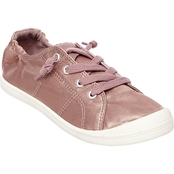 Madden Girl Baailey Satin Lace Up Sneakers