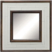 PTM Images White Patch Decorative Wall Mirror