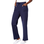 Karen Scott Petite French Terry Active Pants