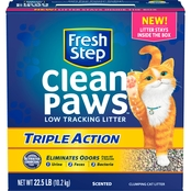 Fresh Step Clean Paws Triple Action 22.5 Lb.