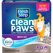 Fresh Step Clean Paws MultiCat 22.5 lb.