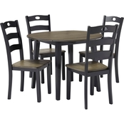 Signature Design by Ashley Froshburg 5 Pc. Round Dining Set