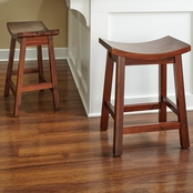 Powell Carmen Saddle Counter Stool