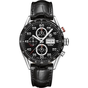 TAG Heuer Men's Carrera Automatic Tachymeter Chronograph Watch CV2A1RFC6235
