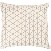 Lavis Home Modern Geometric Decorative Diagonal Stripe Accent Pillow