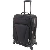 Mercury Luggage 20 in. Soft Sided Upright