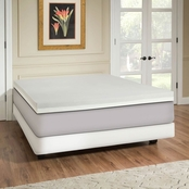 Independent Sleep 4 In. Memory Foam Topper