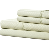 Lavish Home 3 Pc. Brushed Microfiber Hypoallergenic Sheet Set