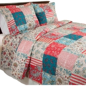 Lavish Home Mallory Quilt Set