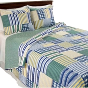 Lavish Home Lynsey Quilt Set