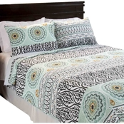 Lavish Home Muna Cotton Quilt Set
