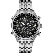 Seiko Men's Prospex Radio Sync Solar World Time Chronograph SSG017