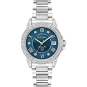 Bulova Women's Diamond Accent Watch 32mm 96R215