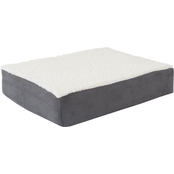 PETMAKER Orthopedic Sherpa Pet Bed