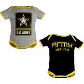 Trooper Clothing Infants Army Bodysuit 2 pk.