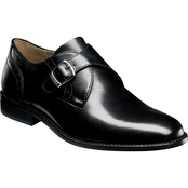 Nunn Bush Sabre Plain Toe Monk Strap Shoes