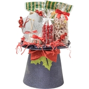 Naper Nuts & Sweets Glitter Top Hat With Treats