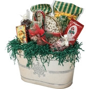 Naper Nuts & Sweets Snowflake Bucket With Treats
