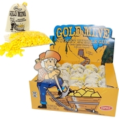 Gold Mine Nugget Bubble Gum 24 Pk.