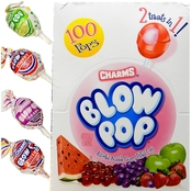 Charms Blow Pops Assorted Flavors 100 Ct. Box