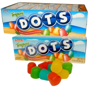 Dots Tropical Flavored Candy 24 Pk.