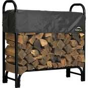 ShelterLogic Heavy Duty Firewood Rack with Cover