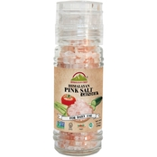 Himalayan Chef Pink Salt in Refillable Glass Grinder