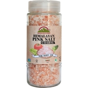 Himalayan Chef Coarse Pink Salt in Glass Jar