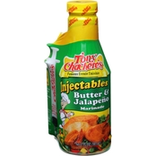 Tony Chachere's Butter and Jalapeno Injectable Marinade 6 pk.