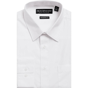 Nick Graham Modern Fitted Solid Dress Shirt