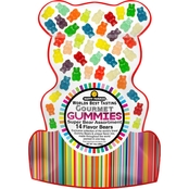 12 Flavor Gummi Bear Bag 14 oz.