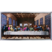 Design Toscano The Last Supper Art Glass