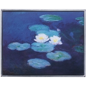 Design Toscano The Water Lilies 1889 Art Glass