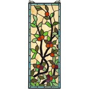 Design Toscano Morris Trellis Tiffany Style Stained Glass Window
