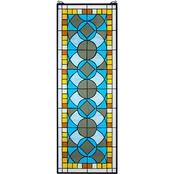 Design Toscano Boundless Rhythm Tiffany Style Stained Glass Window