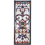 Design Toscano Delaney Manor Stained Glass Window
