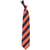 Eagles Wings NCAA Illinois Fighting Illini Regiment Silk Tie