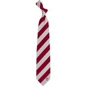 Eagles Wings NCAA Indiana Hoosiers Regiment Silk Tie