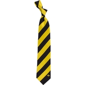 Eagles Wings NCAA Iowa Hawkeyes Regiment Silk Tie