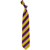 Eagles Wings NCAA LSU Tigers Regiment Silk Tie