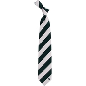 Eagles Wings NCAA Michigan State Spartans Regiment Silk Tie