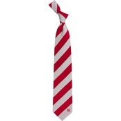 Eagles Wings NCAA Nebraska Cornhuskers Regiment Silk Tie