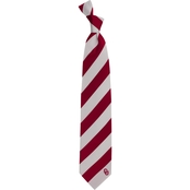 Eagles Wings NCAA Oklahoma Sooners Regiment Silk Tie