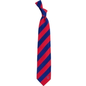 Eagles Wings NCAA Mississippi Ole Miss Rebels Regiment Silk Tie
