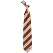 Eagles Wings NCAA Texas Longhorns Regiment Silk Tie
