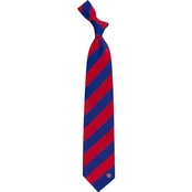 Eagles Wings MLB Chicago Cubs Regiment Silk Tie