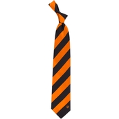 Eagles Wings MLB Baltimore Orioles Regiment Silk Tie