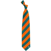Eagles Wings NFL Miami Dolphins Regiment Tie