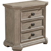 A.R.T. Furniture Arch Salvage 3 Drawer Nightstand